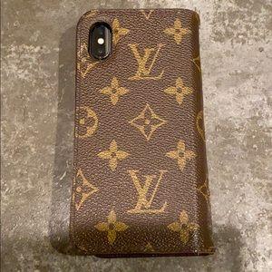 Louis Vuitton iPhone 10X case.